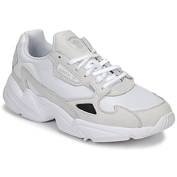 Shoes Women Low top trainers adidas Originals FALCON W White
