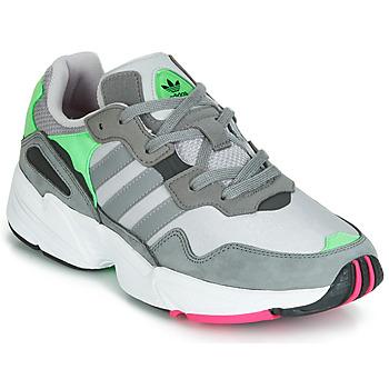 Shoes Men Low top trainers adidas Originals YUNG 96 Grey / Green