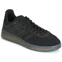 Shoes Men Low top trainers adidas Originals SAMBA RM Black