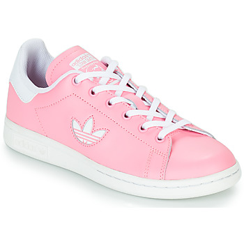 Shoes Girl Low top trainers adidas Originals STAN SMITH J Pink