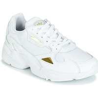 Shoes Women Low top trainers adidas Originals FALCON W White / Gold