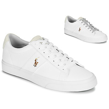 Shoes Low top trainers Polo Ralph Lauren SAYER White