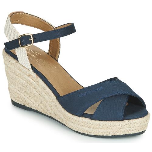 Shoes Women Sandals Tom Tailor 6990101-NAVY Marine