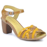 Shoes Women Sandals Pataugas FANNY Yellow