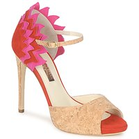 Shoes Women Sandals Rupert Sanderson FLAMANTE Red / Black