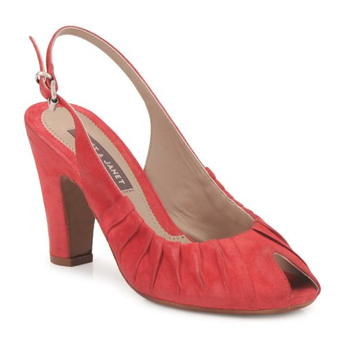Shoes Women Sandals Janet&Janet PEONIA PLISA Red