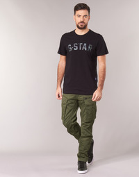 material Men Cargo trousers G-Star Raw ROVIC ZIP 3D STRAIGHT TAPERED Kaki