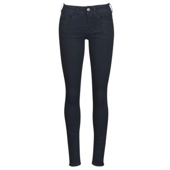 material Women Skinny jeans G-Star Raw LYNN D-MID SUPER SKINNY Blue / Rinsed