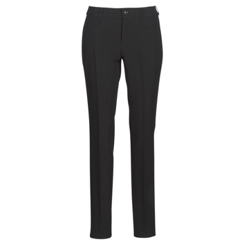 material Women chinos G-Star Raw D-STAQ MID SKINNY ANKLE CHINO Black
