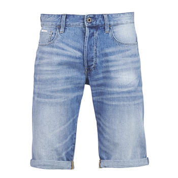 material Men Shorts / Bermudas G-Star Raw 3302 12 Blue / Light / Aged