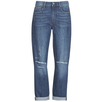 material Women Boyfriend jeans G-Star Raw 3302 SADDLE MID BOYFRIEND Blue / Medium / Aged