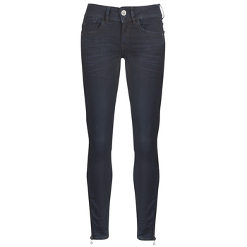 material Women Skinny jeans G-Star Raw LYNN ZIP MID SKINNY ANKLE Blue / Dark / Aged