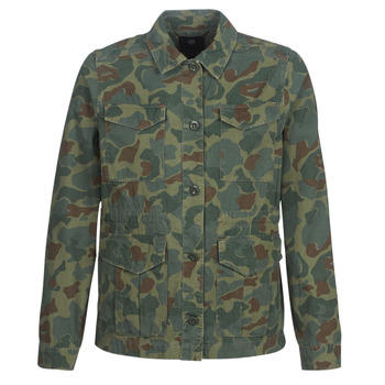 material Women Blouses G-Star Raw ROVIC AO FIELD OVERSHIRT Green