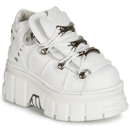 Shoes Low top trainers New Rock ROCKY White
