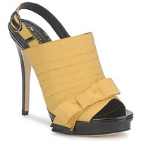 Shoes Women Sandals Jerome C. Rousseau ROXY Yellow / Black