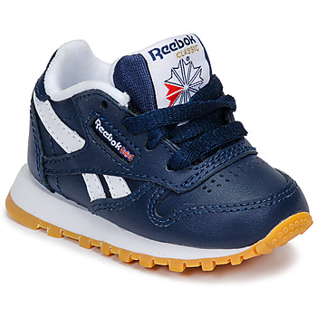 Shoes Boy Low top trainers Reebok Classic CLASSIC LEATHER Blue / White