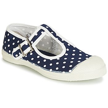 Shoes Girl Ballerinas Bensimon TENNIS SALOME POIS Marine