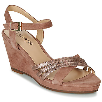 Shoes Women Sandals JB Martin QUOLIDAYS Camel