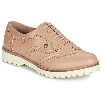 Shoes Women Derby shoes LPB Shoes GISELE Powder