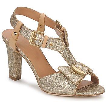 Shoes Women Sandals Sonia Rykiel DEFIL GAT GLITTER / GOLD