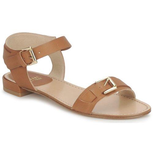Shoes Women Sandals Stuart Weitzman BEBOP Brown