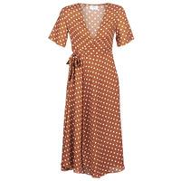 material Women Long Dresses Betty London KAR Brown