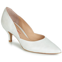 Shoes Women Court shoes Perlato MOLI White