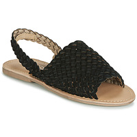 Shoes Women Sandals Spot on F00214 Black