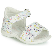 Shoes Girl Sandals Primigi (enfant) 3407033 White
