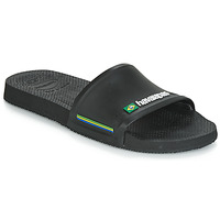 Shoes Men Tap-dancing Havaianas SLIDE BRASIL Black