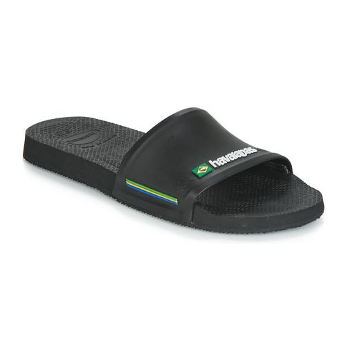Shoes Men Sliders Havaianas SLIDE BRASIL Black
