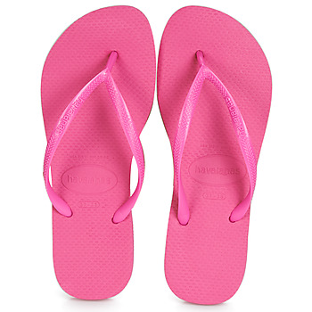 Shoes Women Flip flops Havaianas SLIM Pink