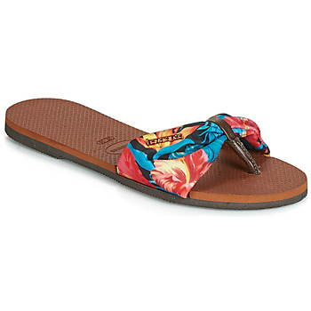 Shoes Women Flip flops Havaianas YOU ST TROPEZ Flower