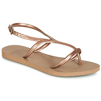 Shoes Women Sandals Havaianas ALLURE Pink / Gold
