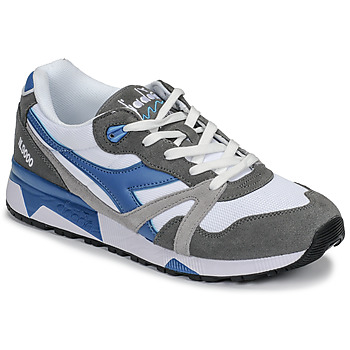 Shoes Men Low top trainers Diadora N 9000 III White / Grey / Turquoise