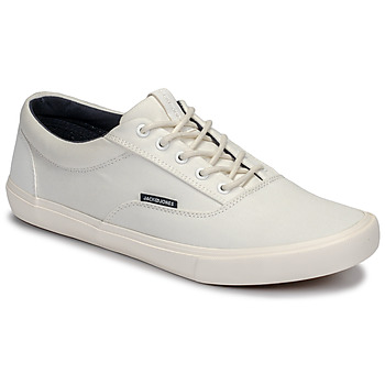 Shoes Men Low top trainers Jack & Jones VISION CLASSIC MIXED White