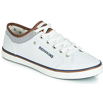 Shoes Men Low top trainers Redskins GALETI White / Grey