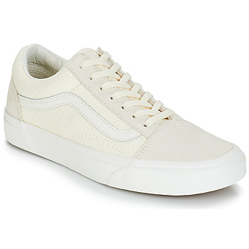 Shoes Women Low top trainers Vans OLD SKOOL Beige