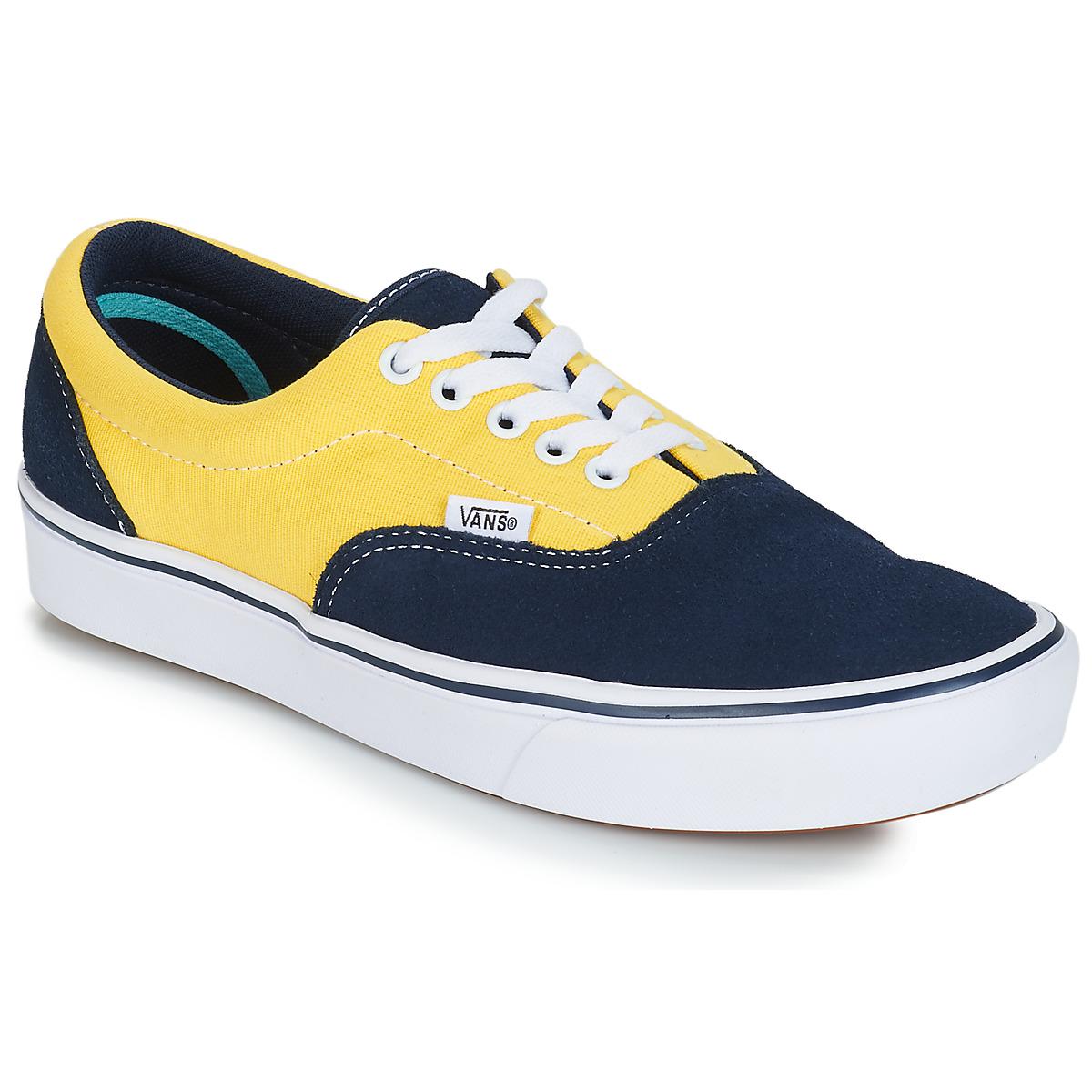 Vans COMFYCUSH ERA Blue / Yellow - Free delivery | Spartoo NET ...