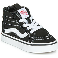 Shoes Children High top trainers Vans SK8-HI ZIP Black / White