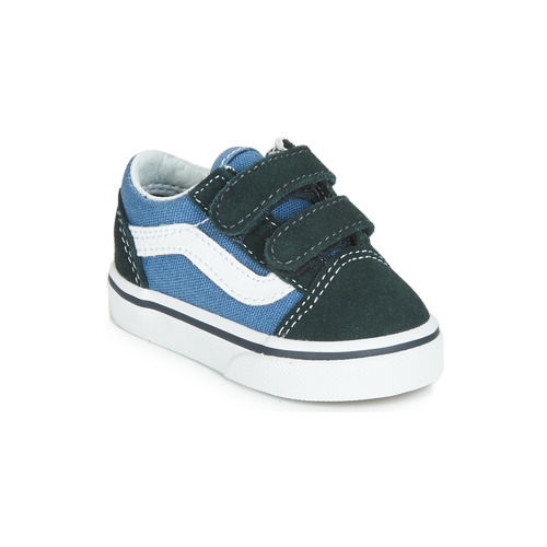Shoes Children Low top trainers Vans OLD SKOOL V Marine