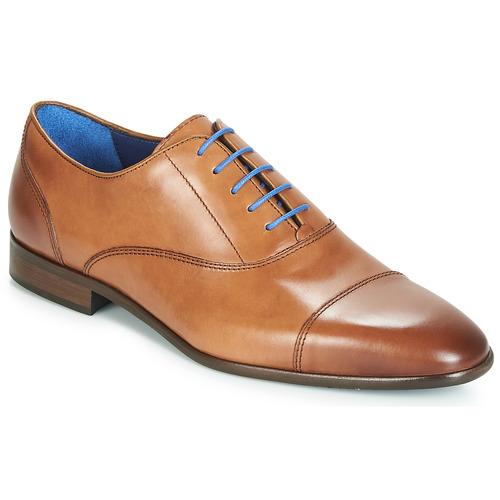 Shoes Men Brogue shoes Azzaro RAELAN Cognac