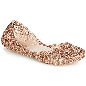 Shoes Women Ballerinas Melissa CAMPANA PAPEL VII Gold