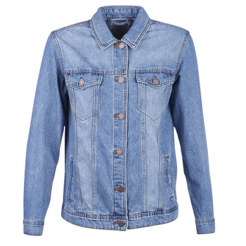 material Women Denim jackets Noisy May NMOLE Blue / Medium