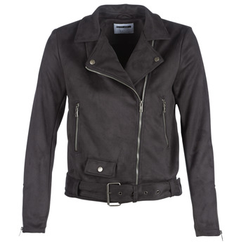 material Women Leather jackets / Imitation le Noisy May NMCHRIZZY Black