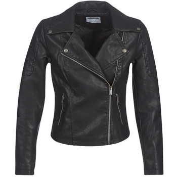 material Women Leather jackets / Imitation le Noisy May NMREBEL Black