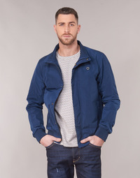 material Men Blouses Scotch & Soda AMS BLAUW SIMPLE HARRINGTON JACKET Marine