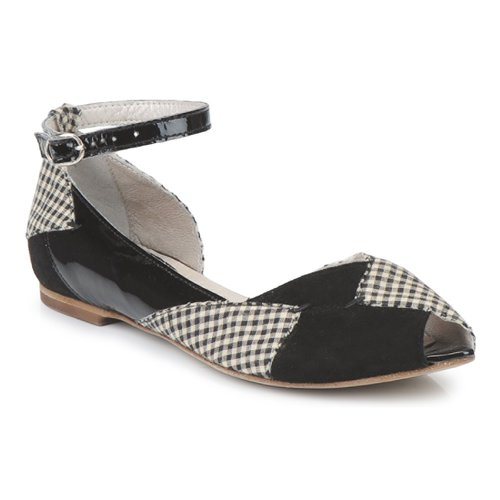 Shoes Women Ballerinas Mosquitos DELICE Black