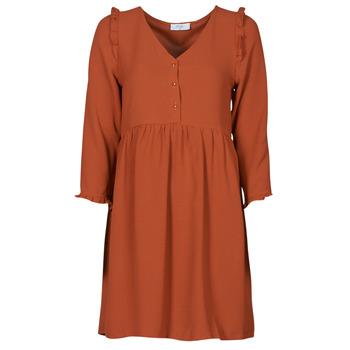 material Women Short Dresses Betty London JOELIE Brown