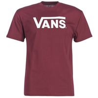 material Men short-sleeved t-shirts Vans VANS CLASSIC Bordeaux